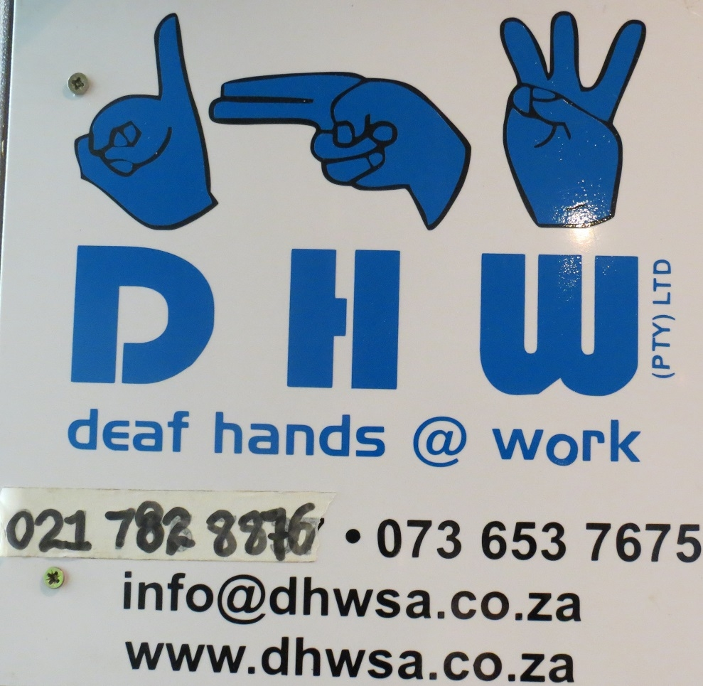 Deaf Hands at Work