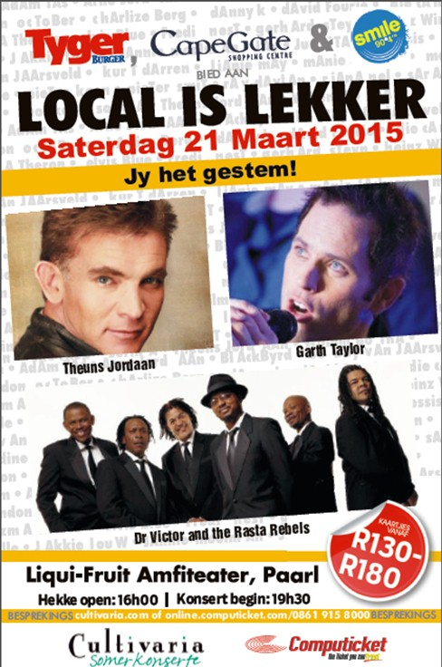 Local is lekker 2015 cd